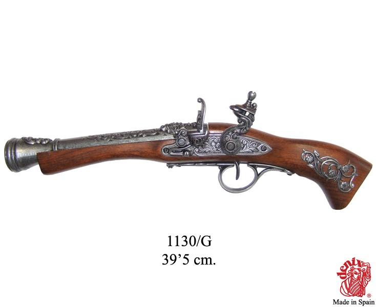 Karabin czarnoprochowy z 18 wieku