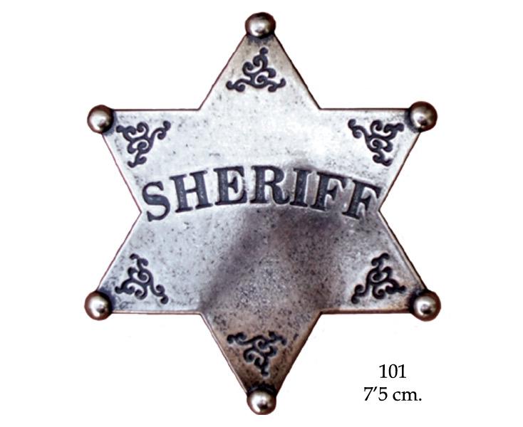 odznaka gwiazda szeryfa denix 101